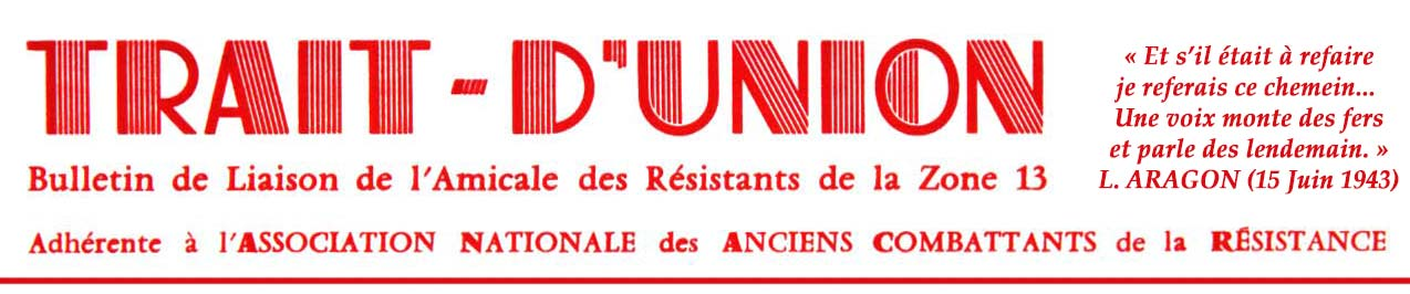 Les « Trait d'Union »